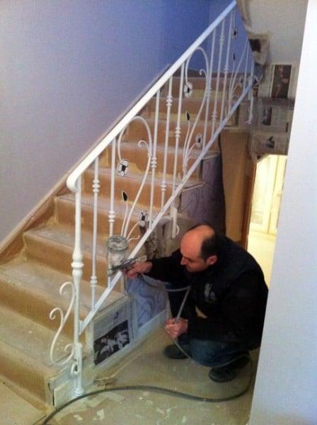 Barandas de hierro forjado ideas construcci n casas - Barandas para escaleras de hierro ...