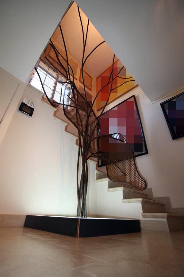 Barandilla de Diseño Exclusivo realizado en acero