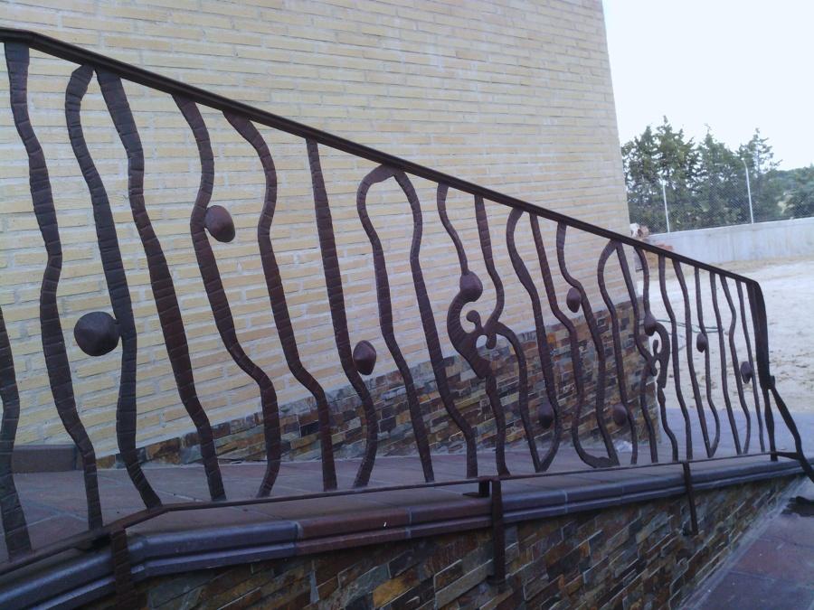 Puertas barandillas y rejas de forja artistica ideas - Barandillas de forja ...