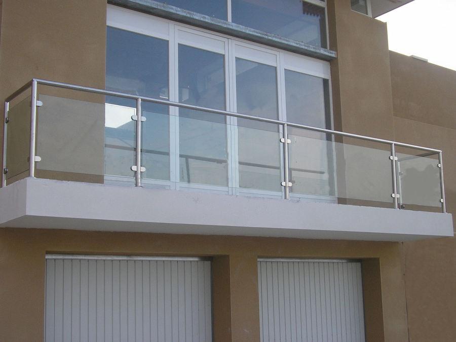 Foto barandilla inox cristal de marcainox 864003 - Barandillas de cristal para terrazas ...