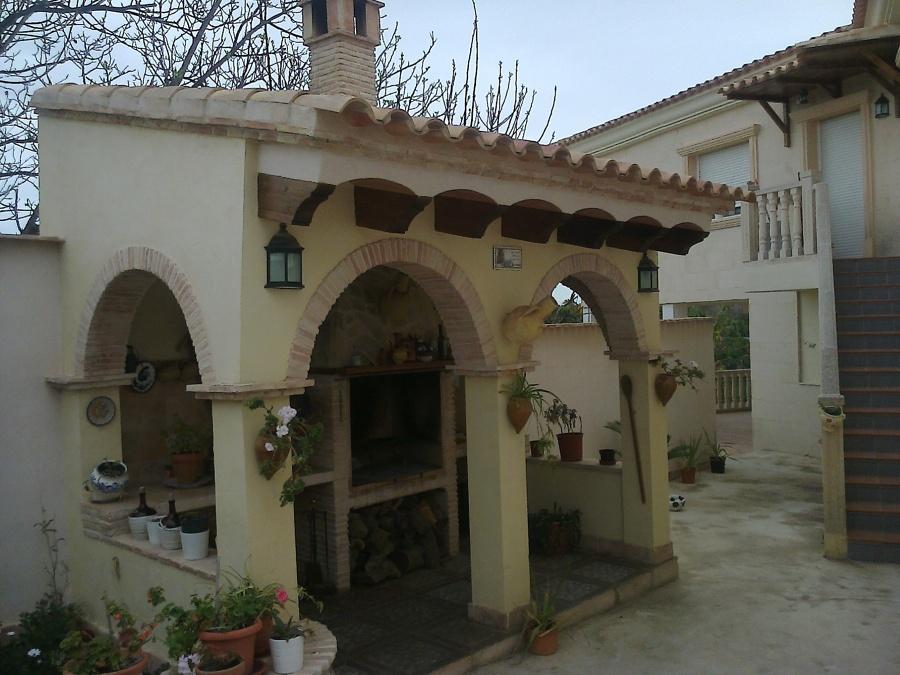 Foto barbacoa exterior de refomas y construcciones jose - Barbacoa exterior ...
