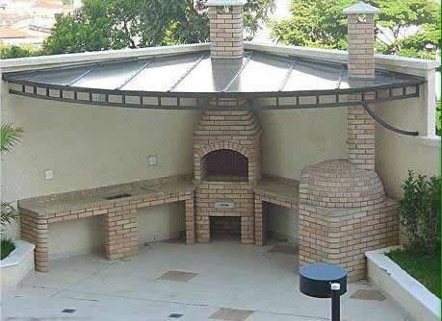 Foto barbacoa y espacio afin de abaca 1149223 habitissimo for Toldos para patios pequenos