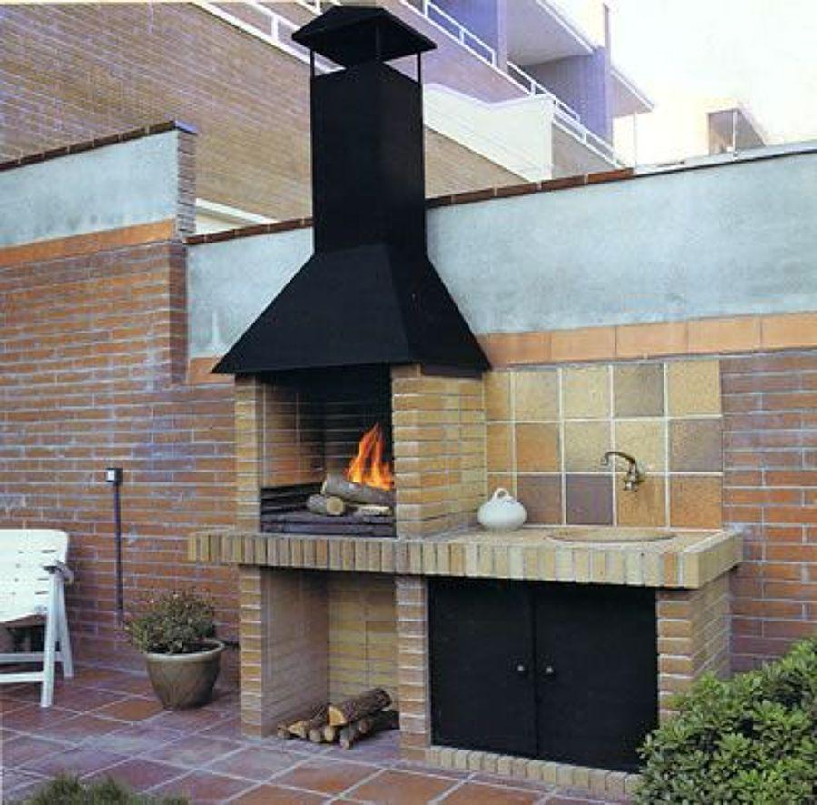Construir una barbacoa a gusto propio ideas alba iles - Barbacoas para terrazas ...