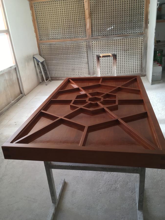 barnizado de mesa