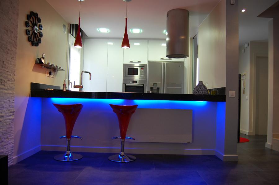 Cocinas con barras americanas trendy cocinas con barras for Barras americanas