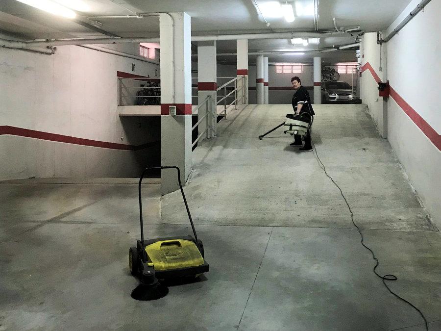 Barrido garaje