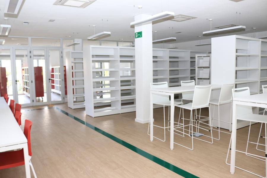 Biblioteca- Sala de Lectura - Libros Sala