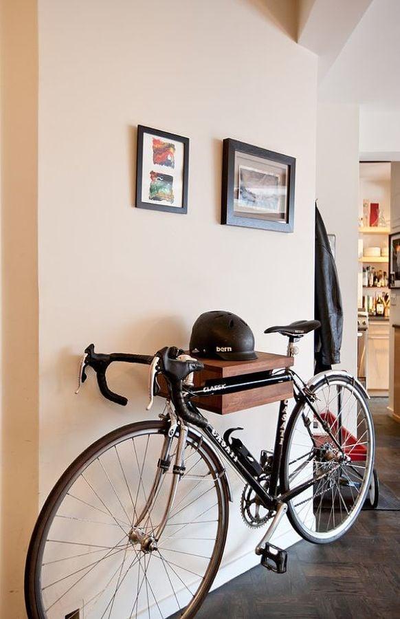 bicicleta en el hall