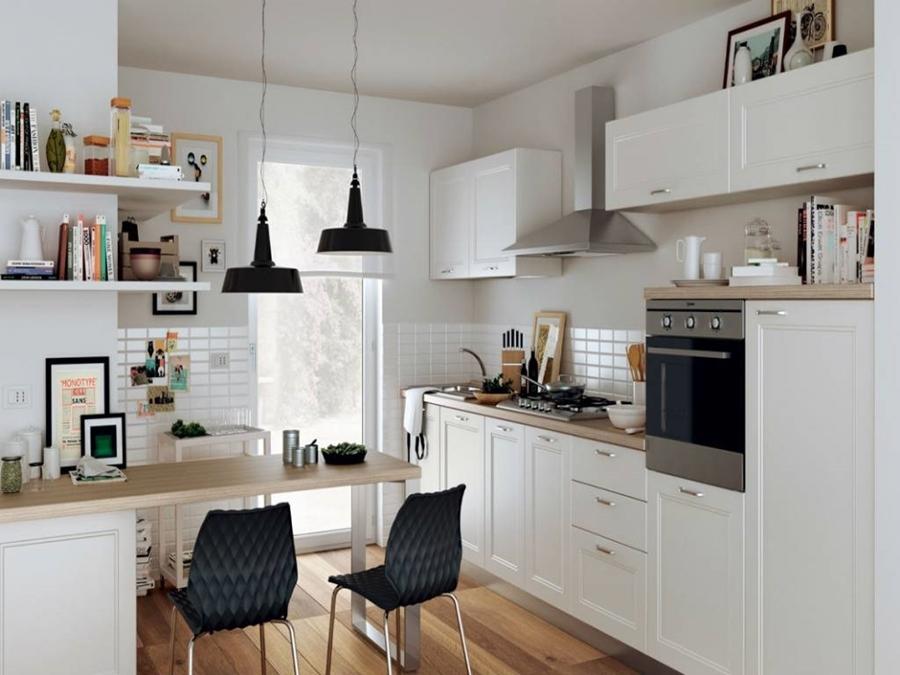 Mima tu cocina con baldas y estantes al aire ideas for Iperceramica como