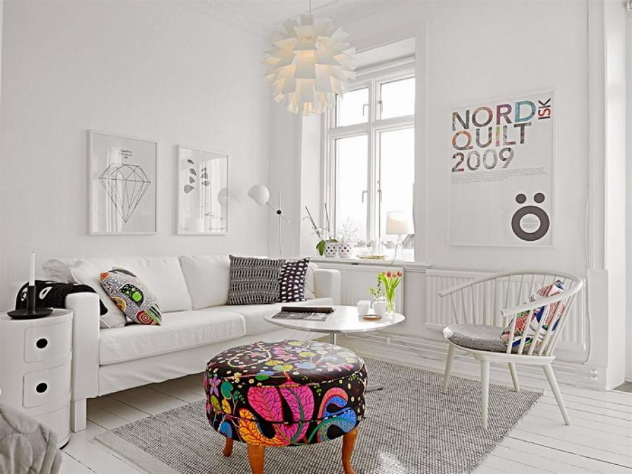 Casas peque as con mucho estilo ideas construcci n casas - Pisos decorados con encanto ...