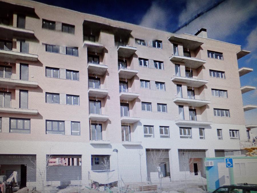Foto Bloque De Viviendas En Construccion De Campano De