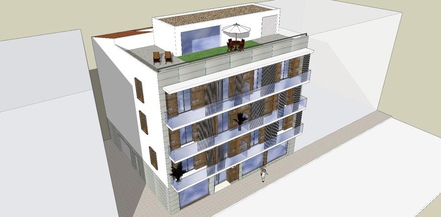 bloque de viviendas en Guadix