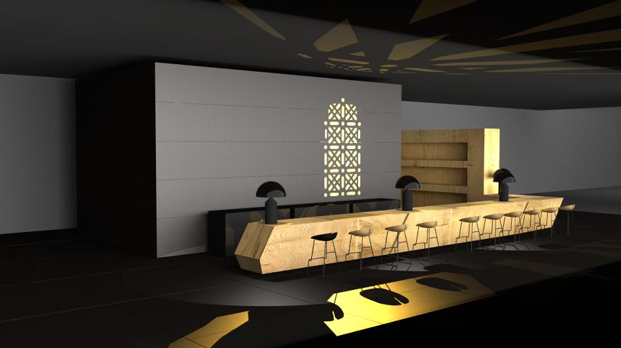 Bolera-Café en Arabia Saudí.
