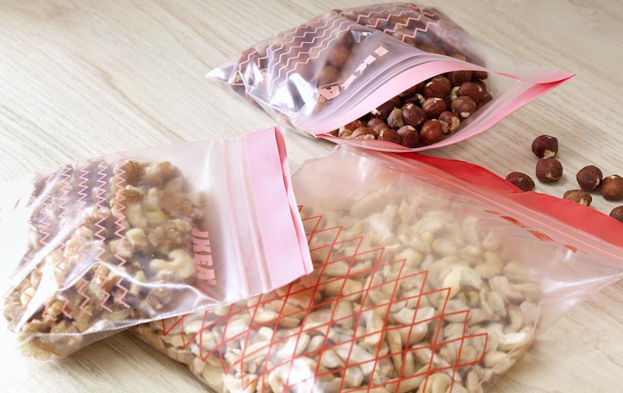 bolsas de plástico con cierre reutilizable