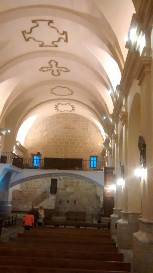 bóveda central salientes pan de oro