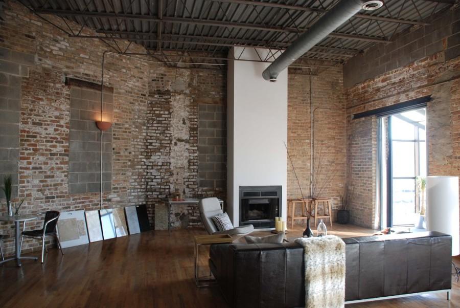 paredes con car cter el ladrillo visto ideas decoradores. Black Bedroom Furniture Sets. Home Design Ideas
