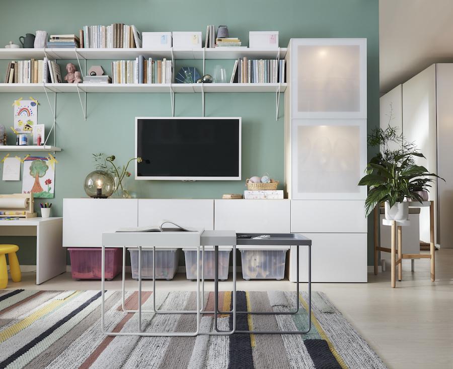 BRÖNDEN alfombra IKEA