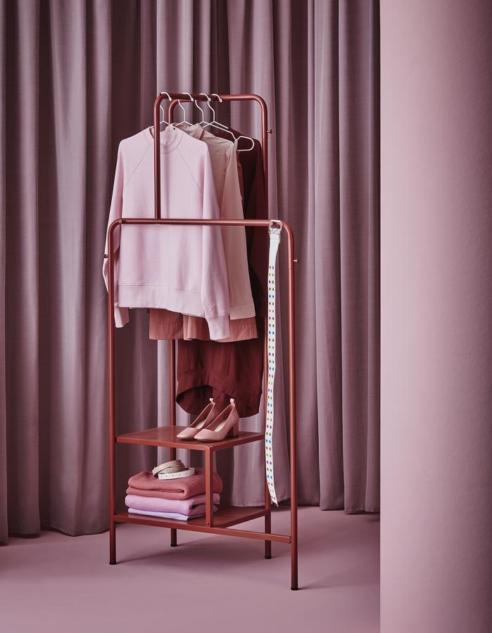 burro ropa de acero con revestimiento en polvo catálogo IKEA 2020