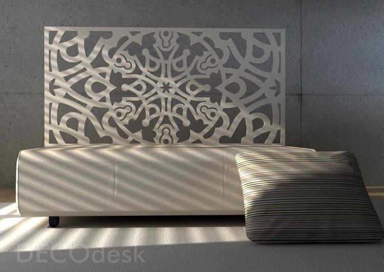 Foto cabeceras de cama en base de celosias de decodesk - Decoracion de cabeceros de cama ...