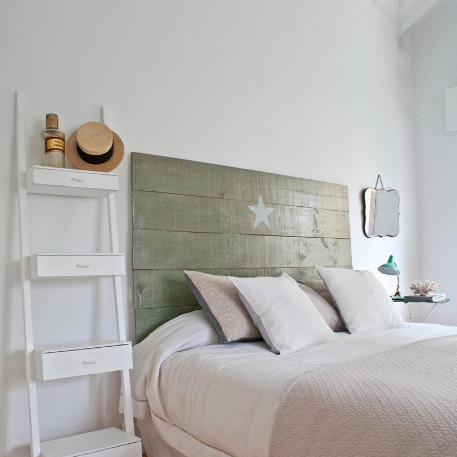7 ideas para dar un toque original a tu casa ideas - Como hacer un cabecero de madera ...