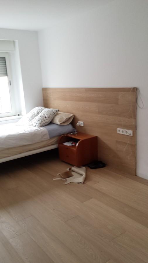 Cabeceros y vivienda de parquet flotante ideas parquetistas - Cabeceros de cama hechos a mano ...