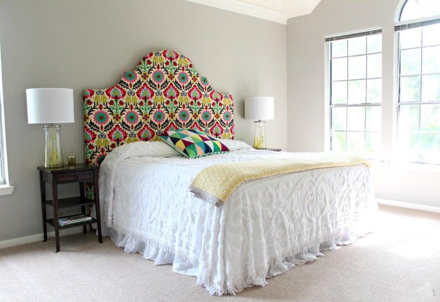 Hazlo t mismo 5 ideas para montar un cabecero de cama - Telas para forrar cabecero cama ...