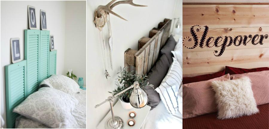 Hazlo t mismo 5 ideas para montar un cabecero de cama - Cabeceros cama caseros ...