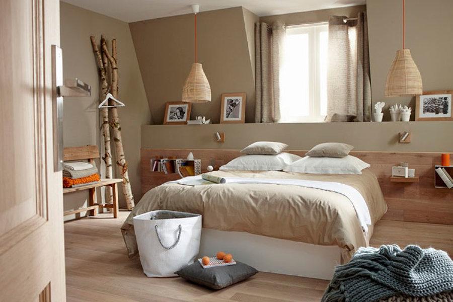 10 cabeceros con mesita de noche incluida ideas decoradores - Cabeceros rusticos de madera ...