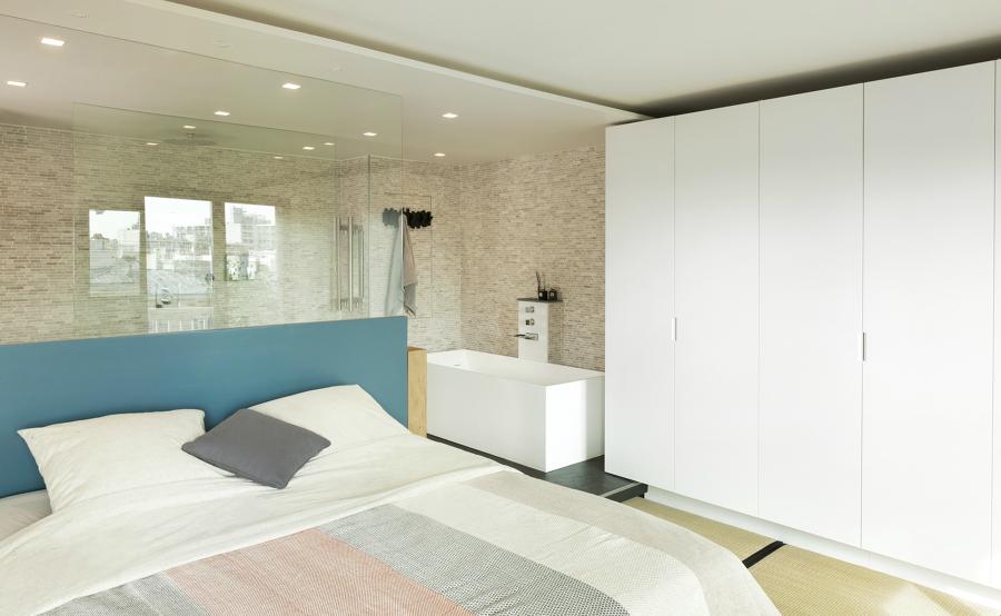 Enmarca tu cama con un cabecero de ensue o ideas decoradores - Cabeceros de obra ...