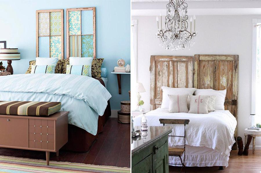 Hazlo t mismo 5 ideas para montar un cabecero de cama - Cabeceros baratos y originales ...