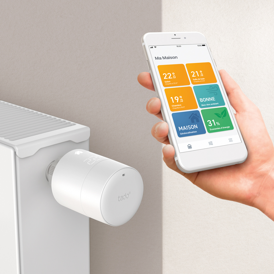 Cabezal termostático inteligente