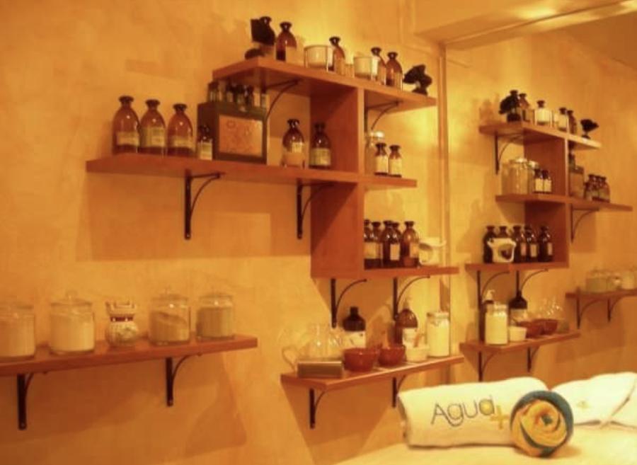 Cabina de masaje