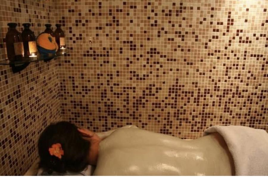 Cabina ducha VICHI y masaje