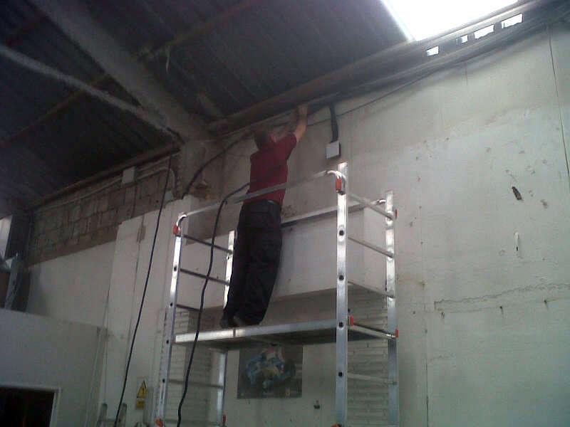 Cableado instalación seguridad