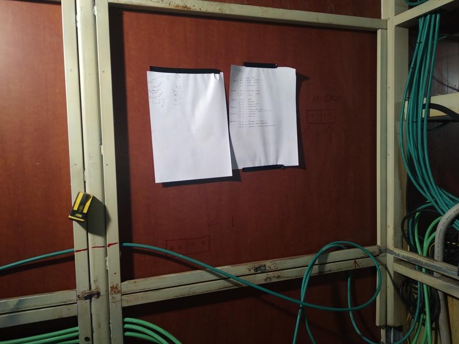 Cableado intra-paneles