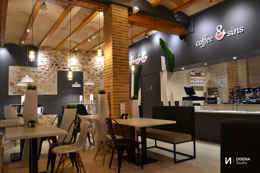 Cafeter a coffee sins ideas decoradores for Decoradores de interiores chile