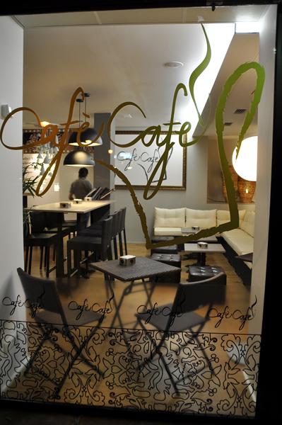 """Cafeteria - geladeria """"Cafè Café"""""""