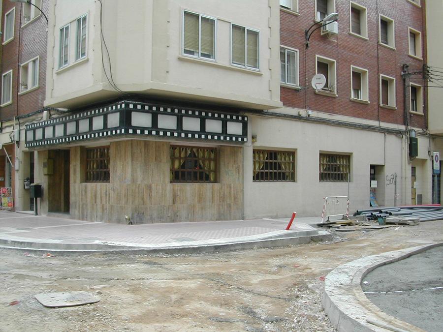 Cafetería Luis Buñuel. Estado anterior.