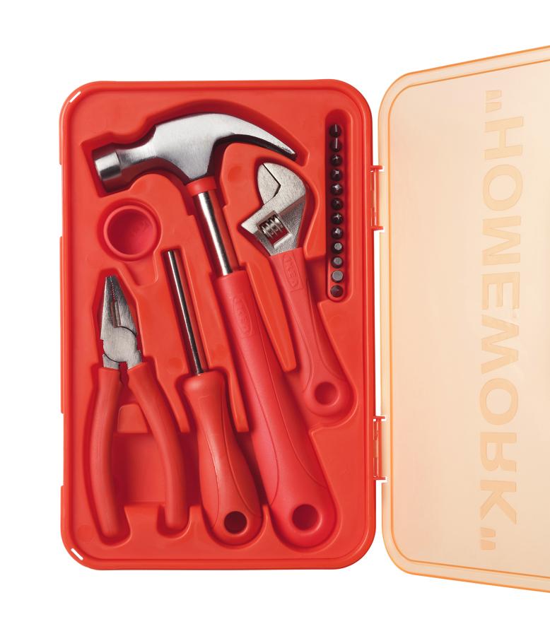 Caja de herramientas MARKERAD: La nueva colección limitada de IKEA en colaboración con Virgil Abloh