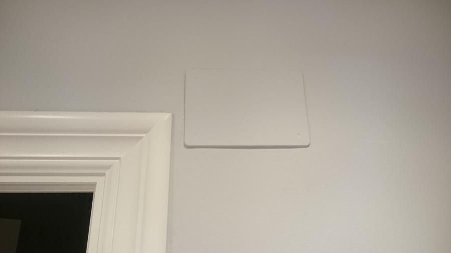 Caja empotrar líneas de la vivienda