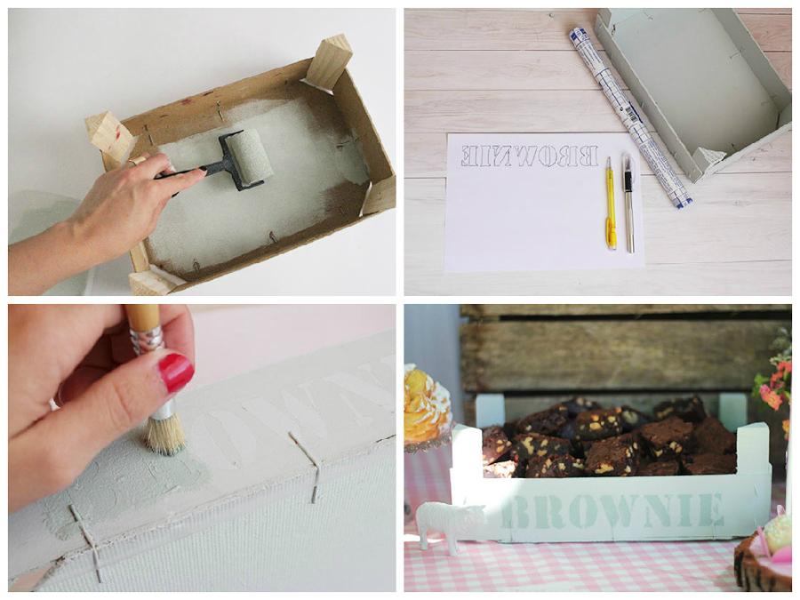 pintar cajas de madera