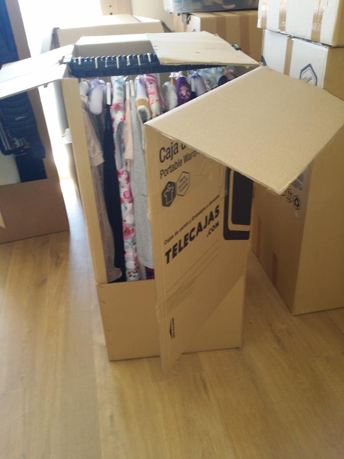 Organizaci n habitaci n ni a tras mudanza ideas decoradores - Cajas de mudanza ...