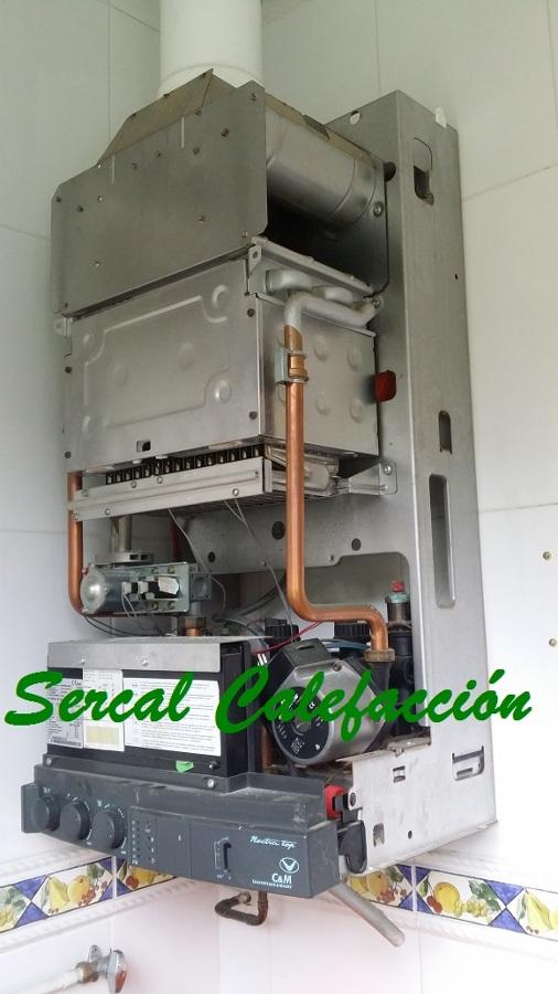 Instalaci n de una caldera de condensaci n de alto for Calderas calefaccion lena alto rendimiento