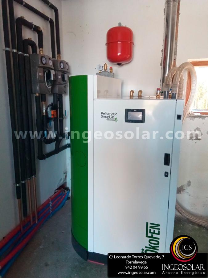 Caldera Automática de Condensación de Pellets
