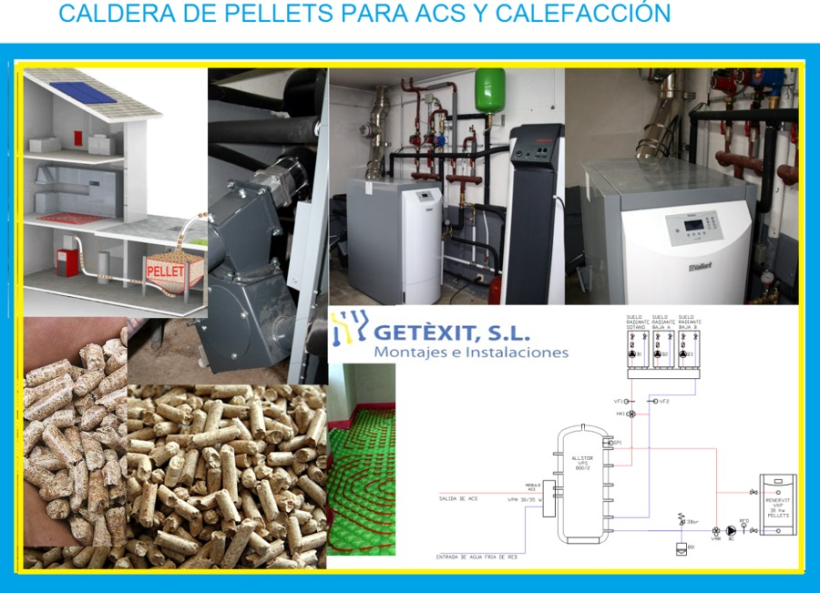 Caldera biomasa ideas calefacci n for Calefaccion de pellets