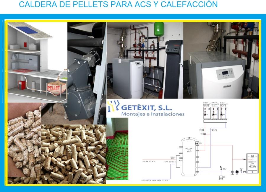 Caldera biomasa ideas calefacci n for Caldera de pellets para radiadores