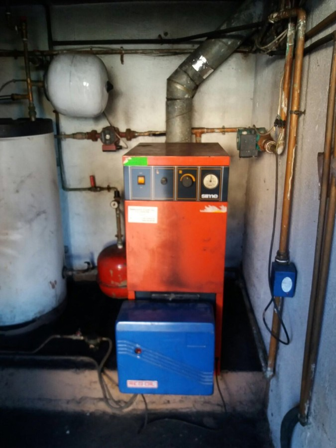 Sala de calderas a gasoil ideas calefacci n - Ahorrar calefaccion gasoil ...