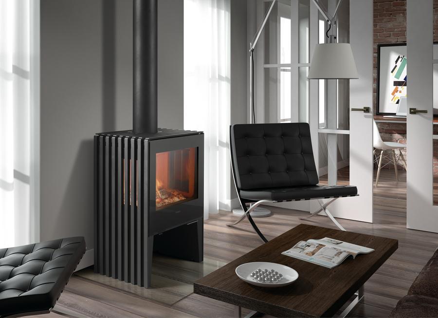 Descubre las ventajas de la calefacci n de pellets ideas - Calefaccion por chimenea ...