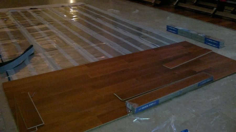 Foto calefaccion radiante electrica de carpinter a - Calefaccion radiante electrica ...