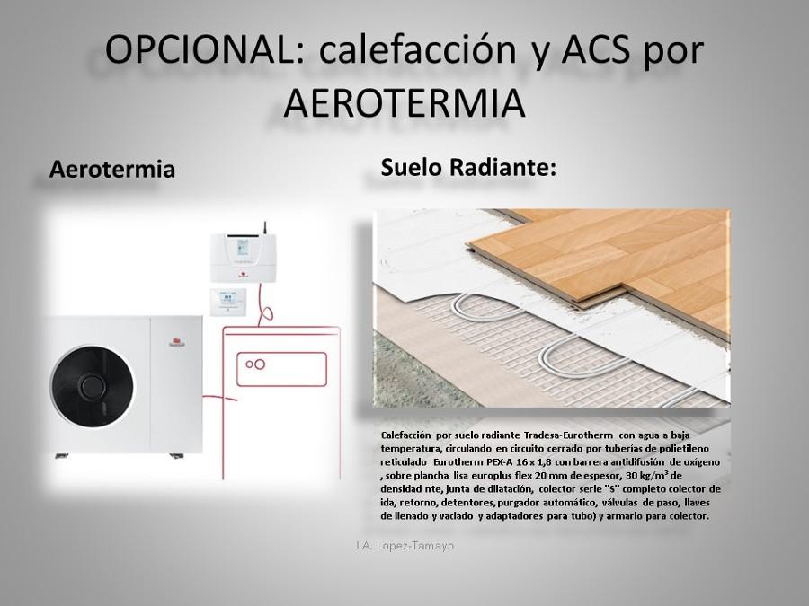CALEFACCION Y ACS POR AEROTERMIA (OPCIONAL)